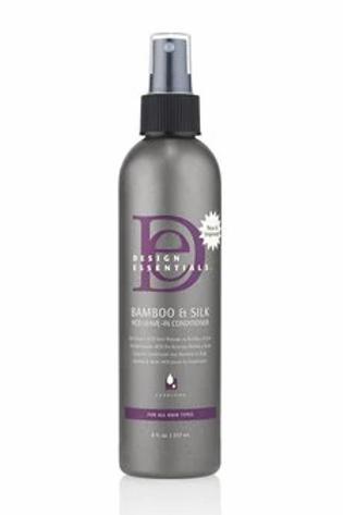Design Essentials Bamboo & Silk HCO Leave-In Conditioner 8 oz
