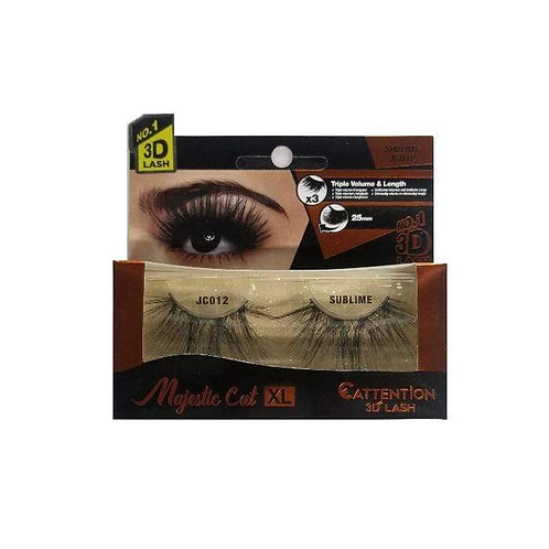 Capture everyone's attention with our Majestic Cat 3D Lashes Get your desired lo
