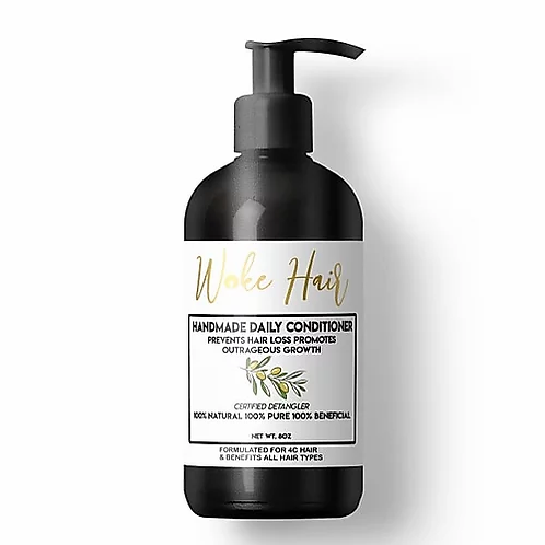 Woke Hair Daily Conditioner 8 oz