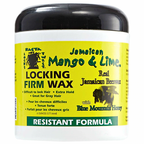 Jamaican Mango & Lime Locking Firm Wax - Resistant Formula 6 oz