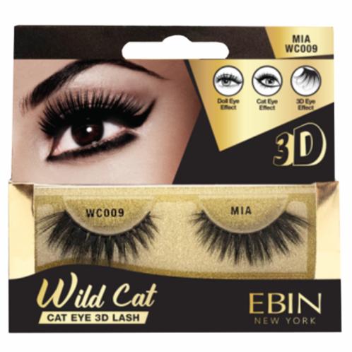 Ebin New York Wild Cat Cat Eye 3D Lash Mia WC009