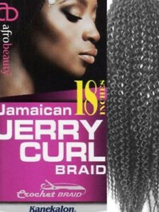 Afro Beauty Collection Jamaican Jerry Curl 18""