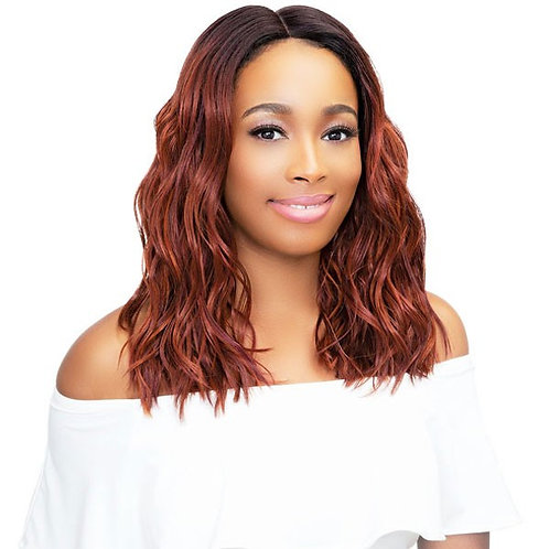 Janet Collection Premium Fiber Extended Part Lace Front Wig-Leona