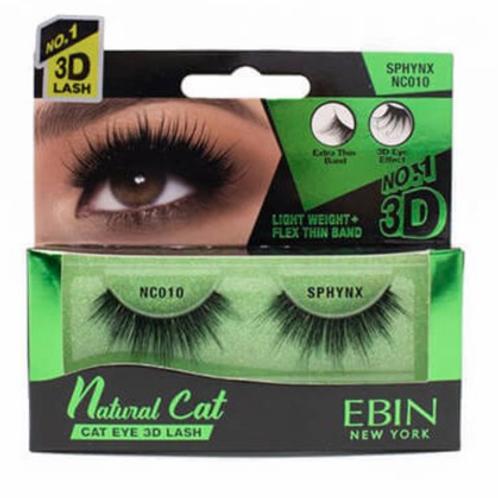 Ebin New York Natural Cat Eye 3D Lash Sphynx NC010