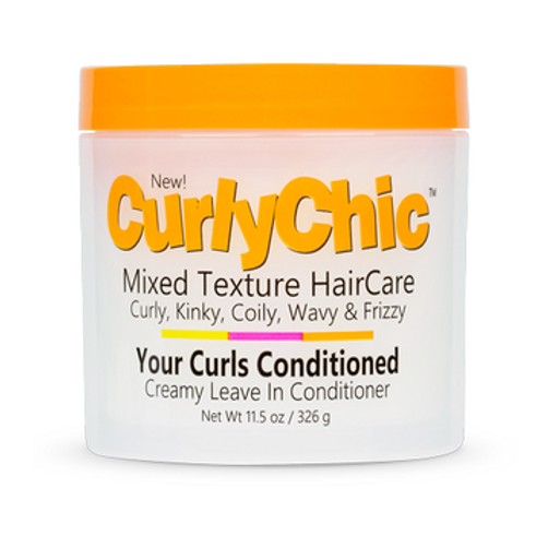 Curly Chic Mixed Texture Creamy Leave In Conditioner 11.5 oz