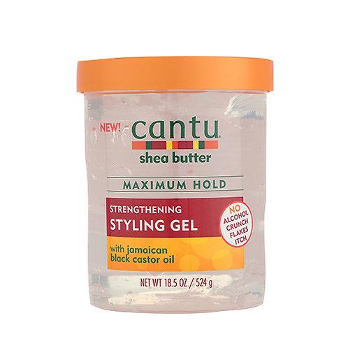Cantu Shea Butter Maximum Hold Strengthening Styling Gel 18.5 oz