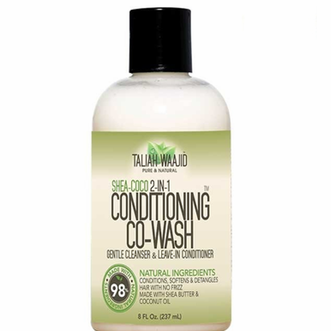 Taliah Waajid Shea-Coco 2-In-1 Conditioning Co-Wash 8 oz