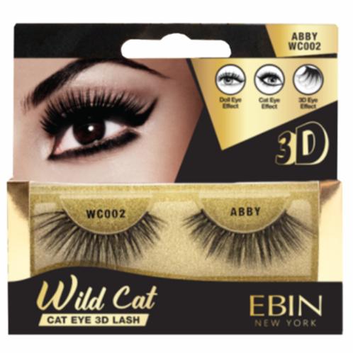 Ebin New York Wild Cat Cat Eye 3D Lash Abby WC002