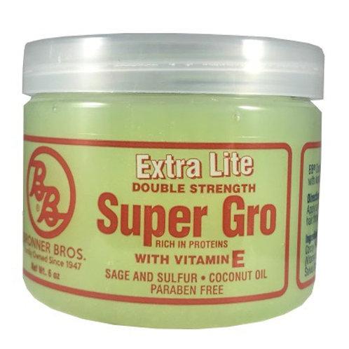 BRONNER BROTHERS SUPER GRO - EXTRA LIGHT 6 OZ