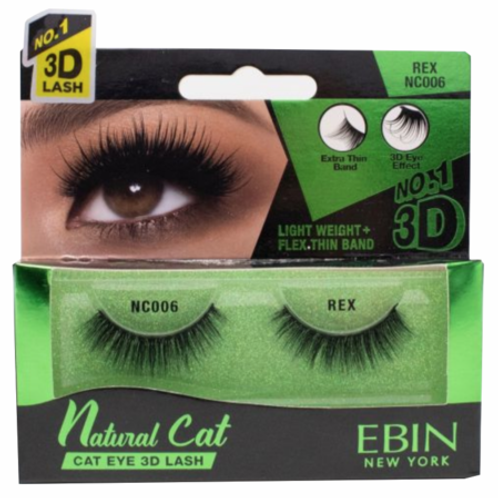 Ebin New York Natural Cat Eye 3D Lash Rex NC006