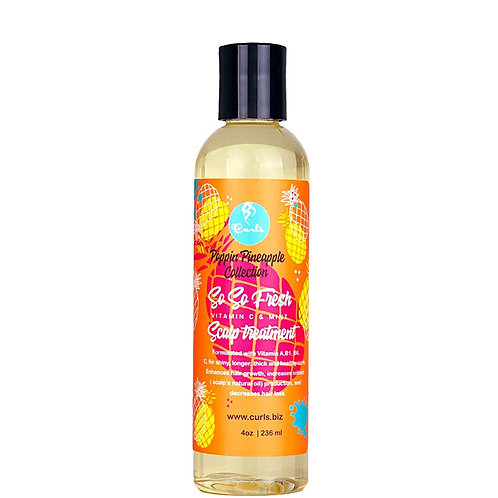 Curls Poppin Pineapple So So Fresh Vitamin C Scalp Treatment, 4 oz