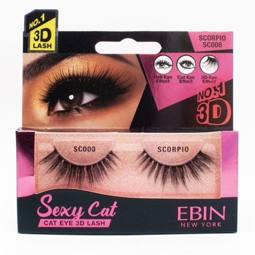 Ebin New York Sexy Cat Eye 3D Lash Scorpio SC008