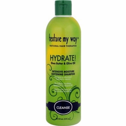 Texture My Way Hydrate Intensive Softening Shampoo 12 oz