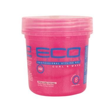 Eco Style Curl & Wave Professional Styling Gel 32 oz