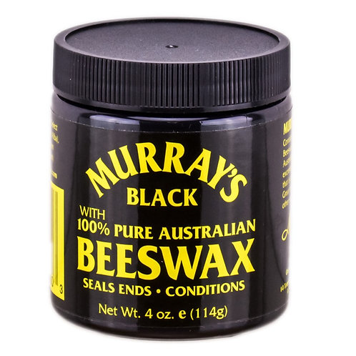 Murray's Black 100% Pure Australian Beeswax 4 oz