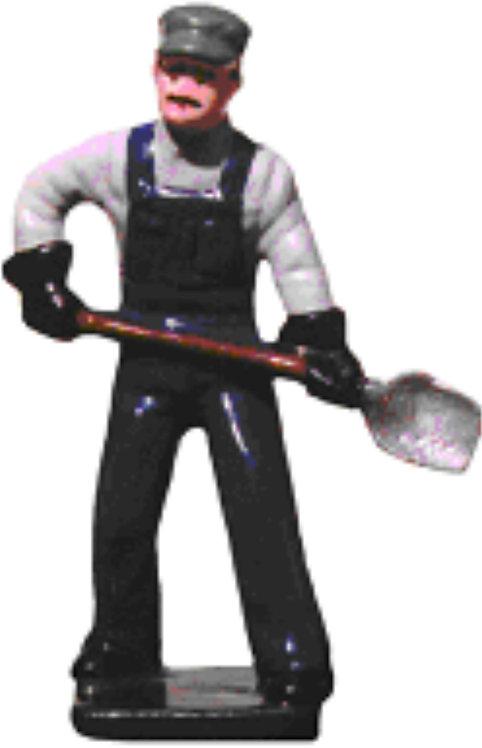 #049 - Engineer w/ Shovel