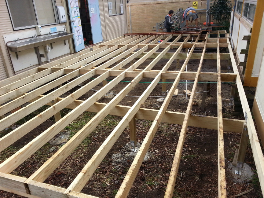 COMPLETE BEARER AND JOIST