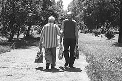 Senior Couple walking - Full Story Video