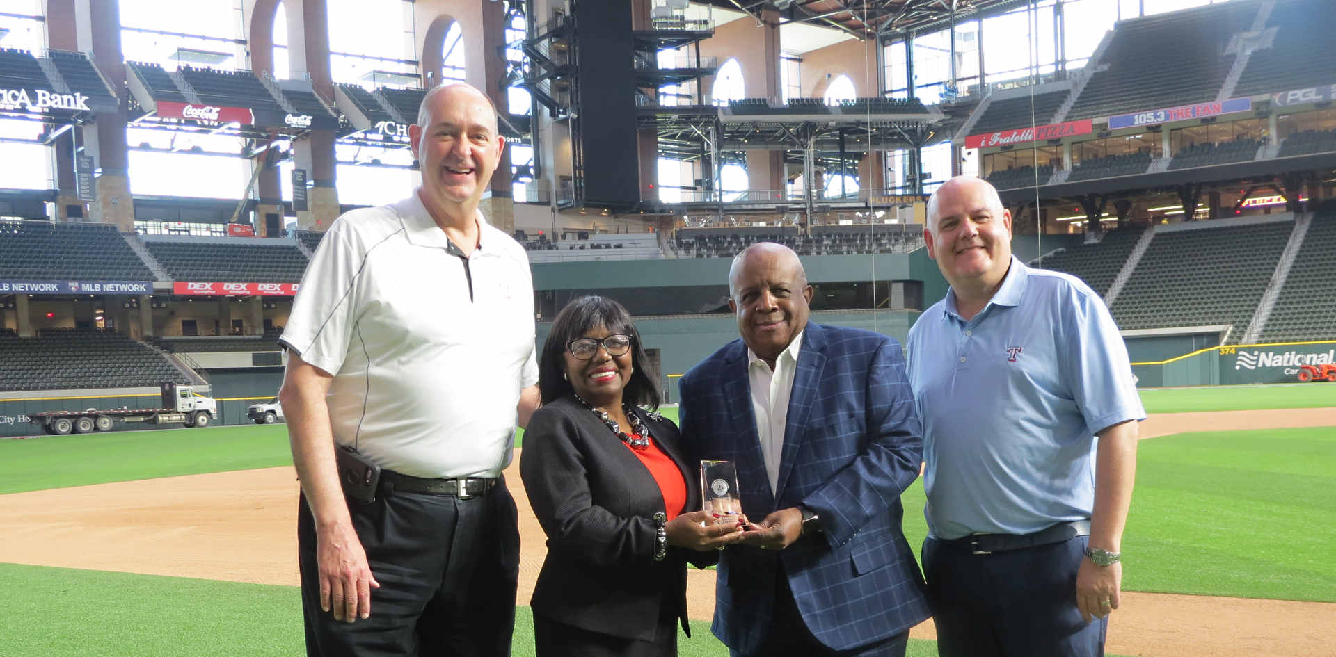 Texas Rangers recognize Industrial Solutions Company