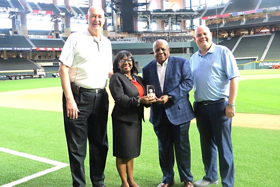 Texas Rangers 2020 MLB Jackie Robinson Diverse Partner Award