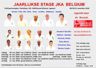 Stage van Brussel