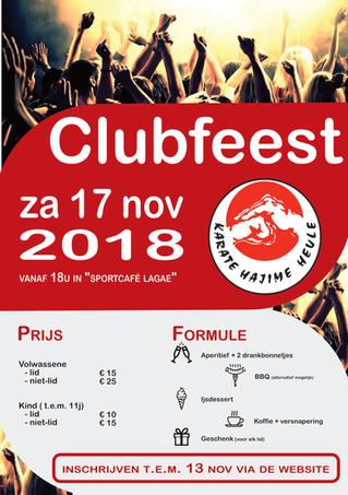 Clubfeest 2018