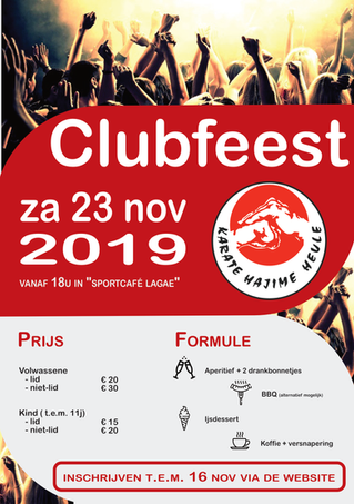 Clubfeest 2019