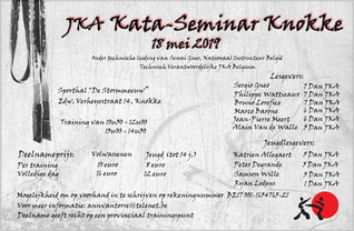 Kata seminarie Knokke