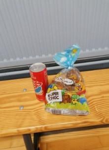 De paas haas is vroeg dit jaar bij Hajime Heule