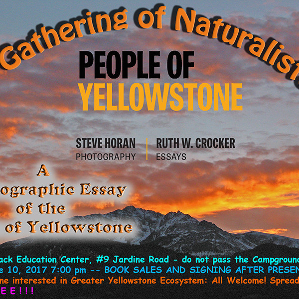 A Naturalist's World book signing and video presentation