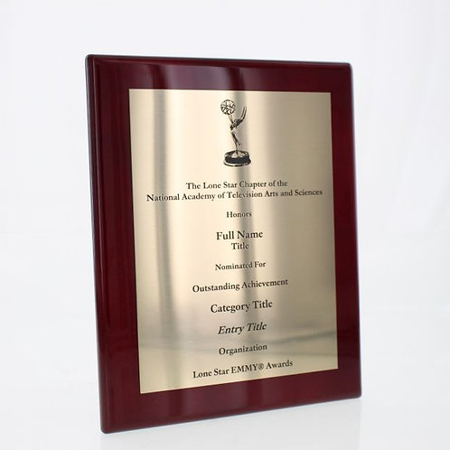 Nomination Plaque - Non-Member Rate