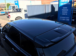 Range Rover Roof  - Gold to Black