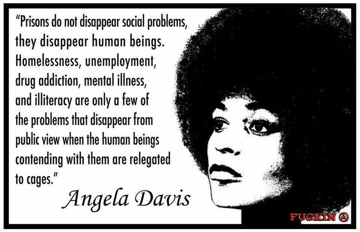 Angela Davis as an inspiration for prison abolition for
