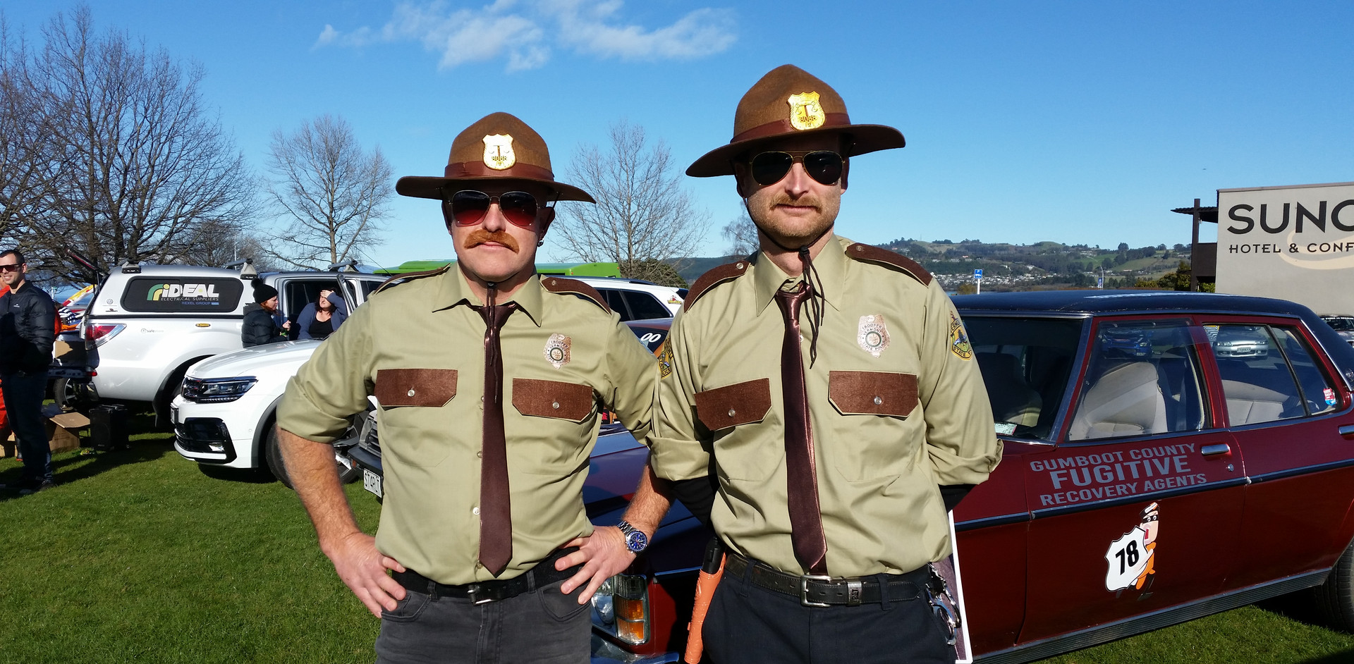 Super Troopers in action
