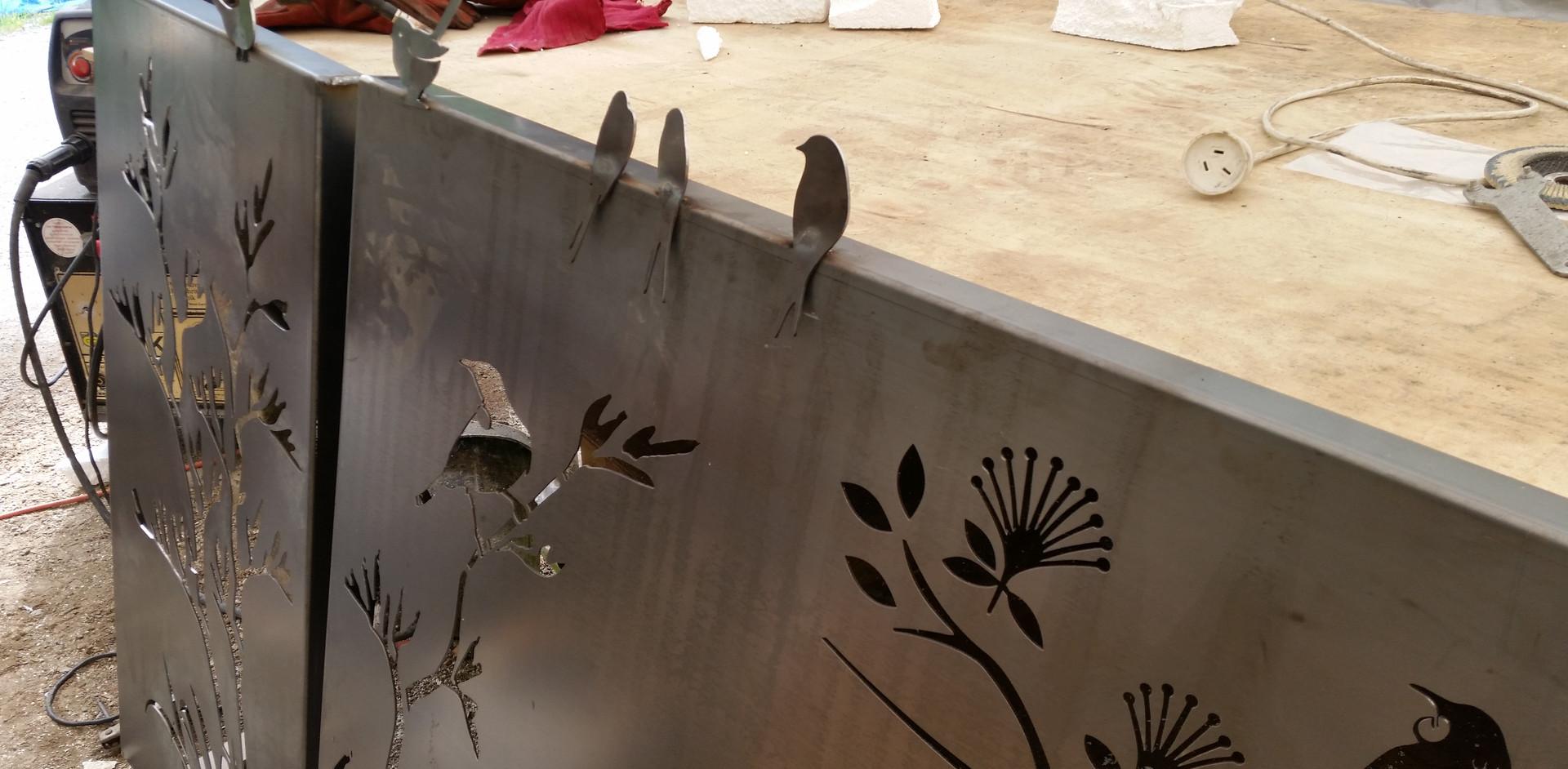 Corten Wall Art