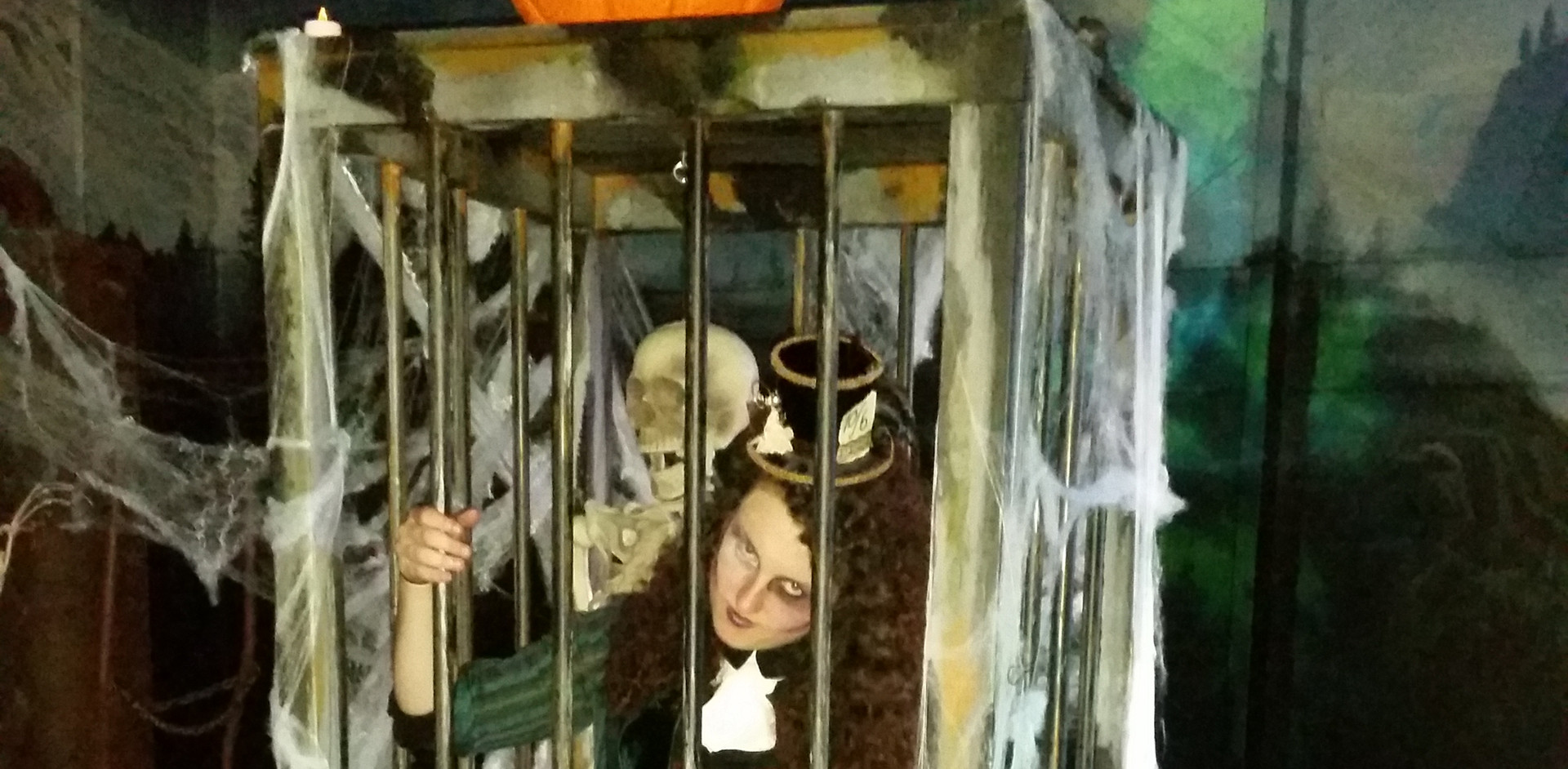 Halloween cage
