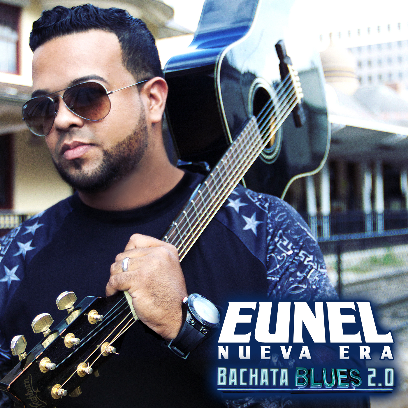 Album face Eunel Bachata Blues 2.0 Final