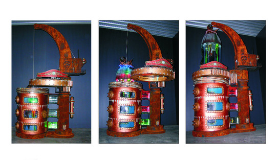 Mechanical jellyfish pressure test
