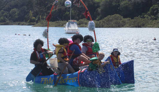 Stillwater Raft race
