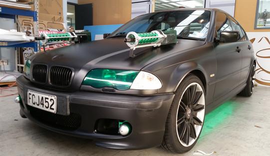 Gumboot rally - Green Hornet