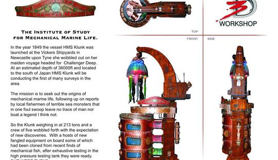 Mechanical jellyfish Story