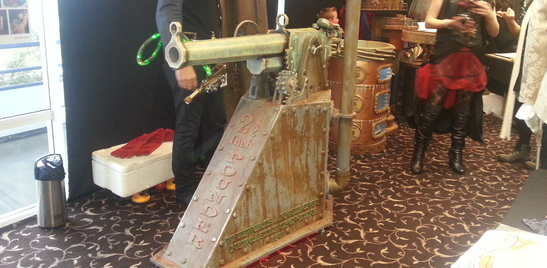 Steampunk Cannon