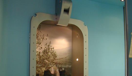 Air lock door