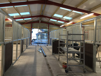 New stables