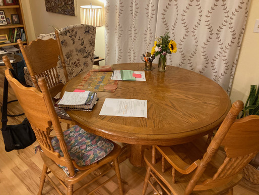 Day 29: Kitchen Table