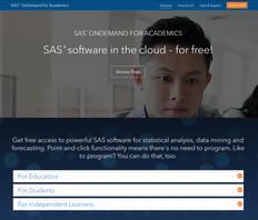 SAS OnDemand for Academics:              Free Cloud-Based SAS!