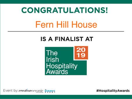 The Irish Hospitality Awards 2019 - we're finalists!