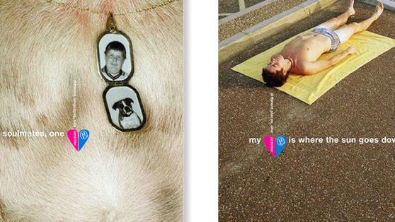 """Globale """"My Heart"""" Kampagne für Intel Centrino. Im Rahmen eines Auslands-Aufenthaltes in New York konzipiert & kreiert."""
