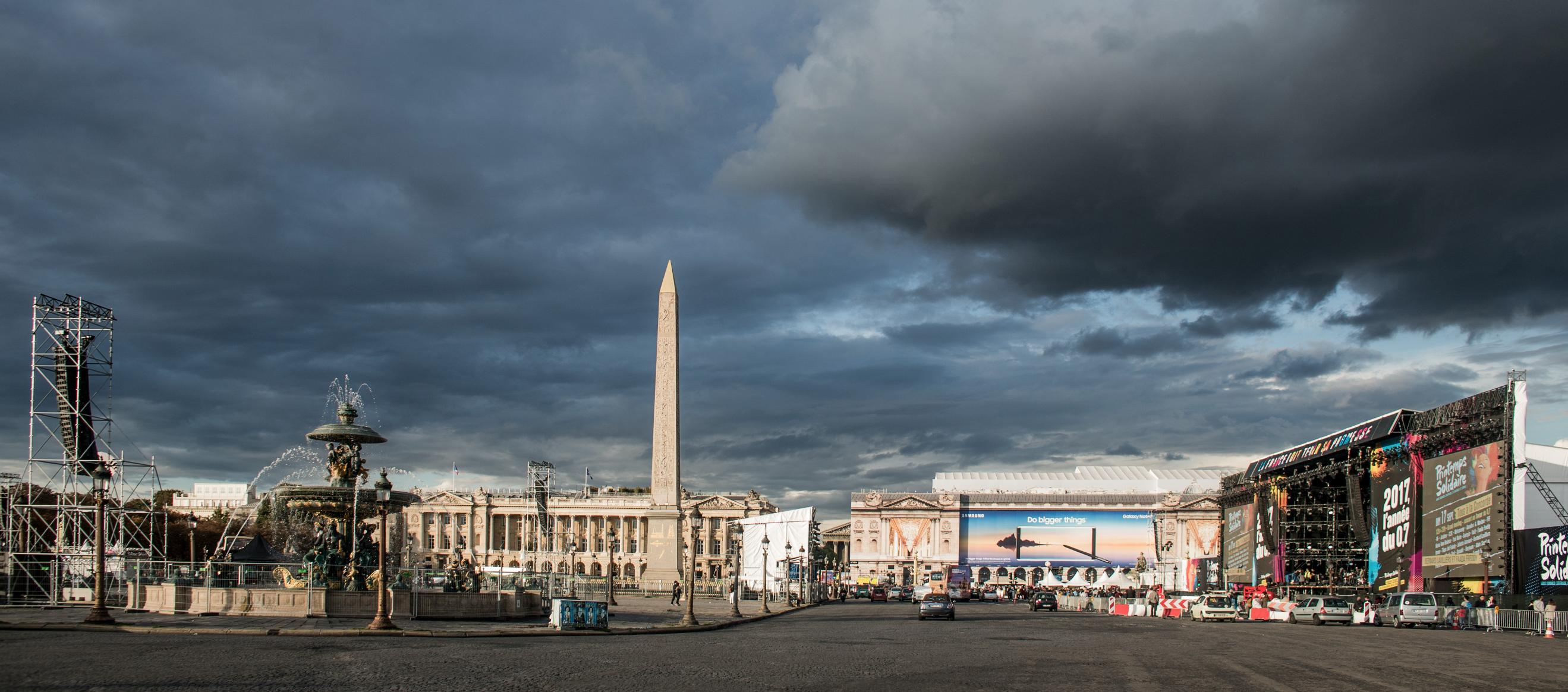 Concert Place de la concorde - Paris