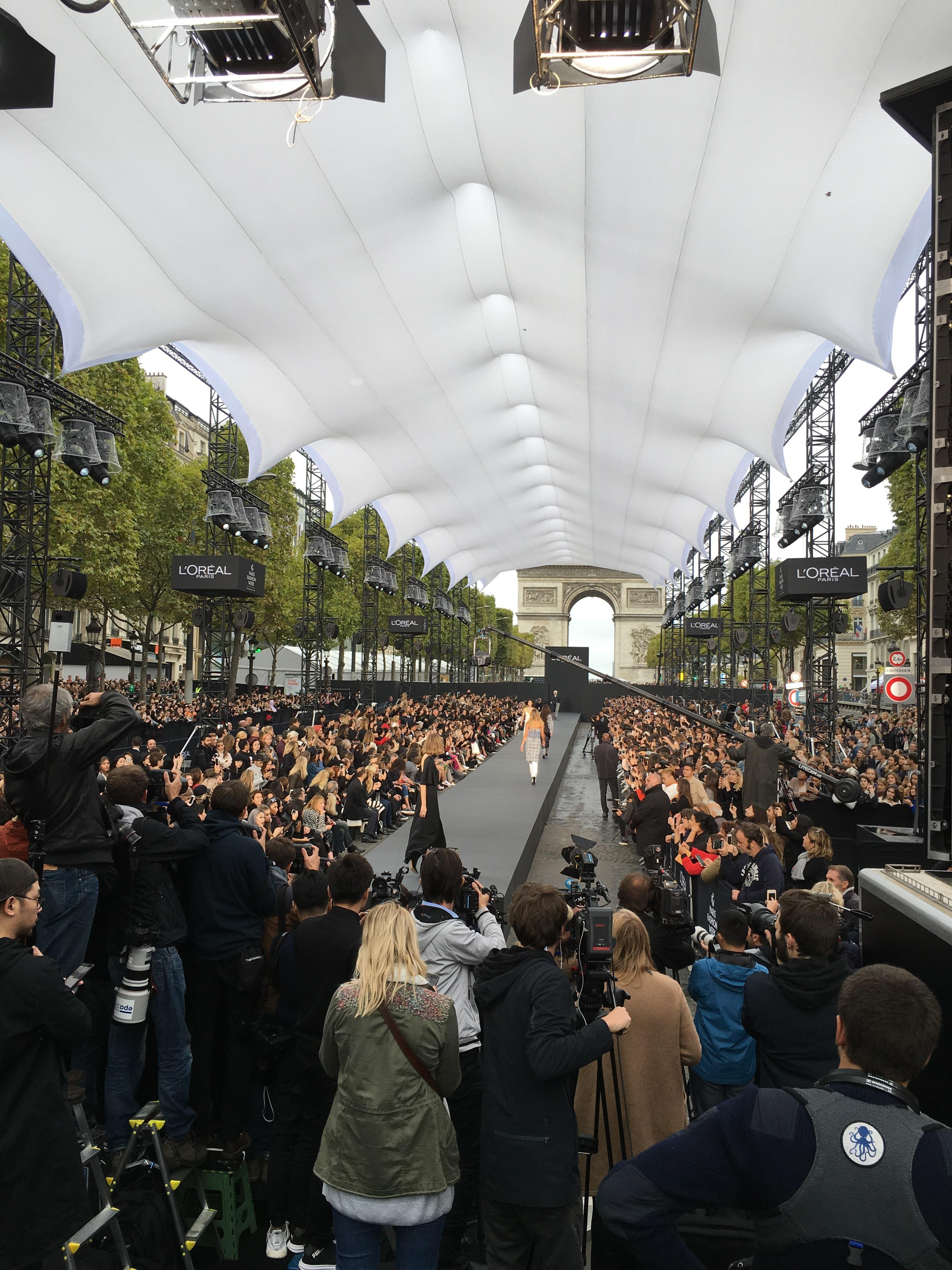 Défilé L'Oreal Champs Elysée